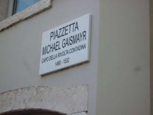 piazza Gaismayr
